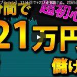 バイナリーオプション 初心者用 11分間で+21万円儲ける動画 シグナルツール